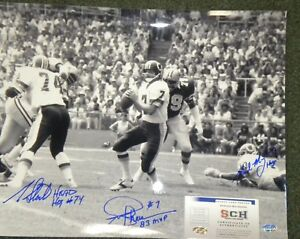 Joe-Theismann-May-Starke-Signed-Autograph-16x20-Redskins-Photo-SCH-Authentic