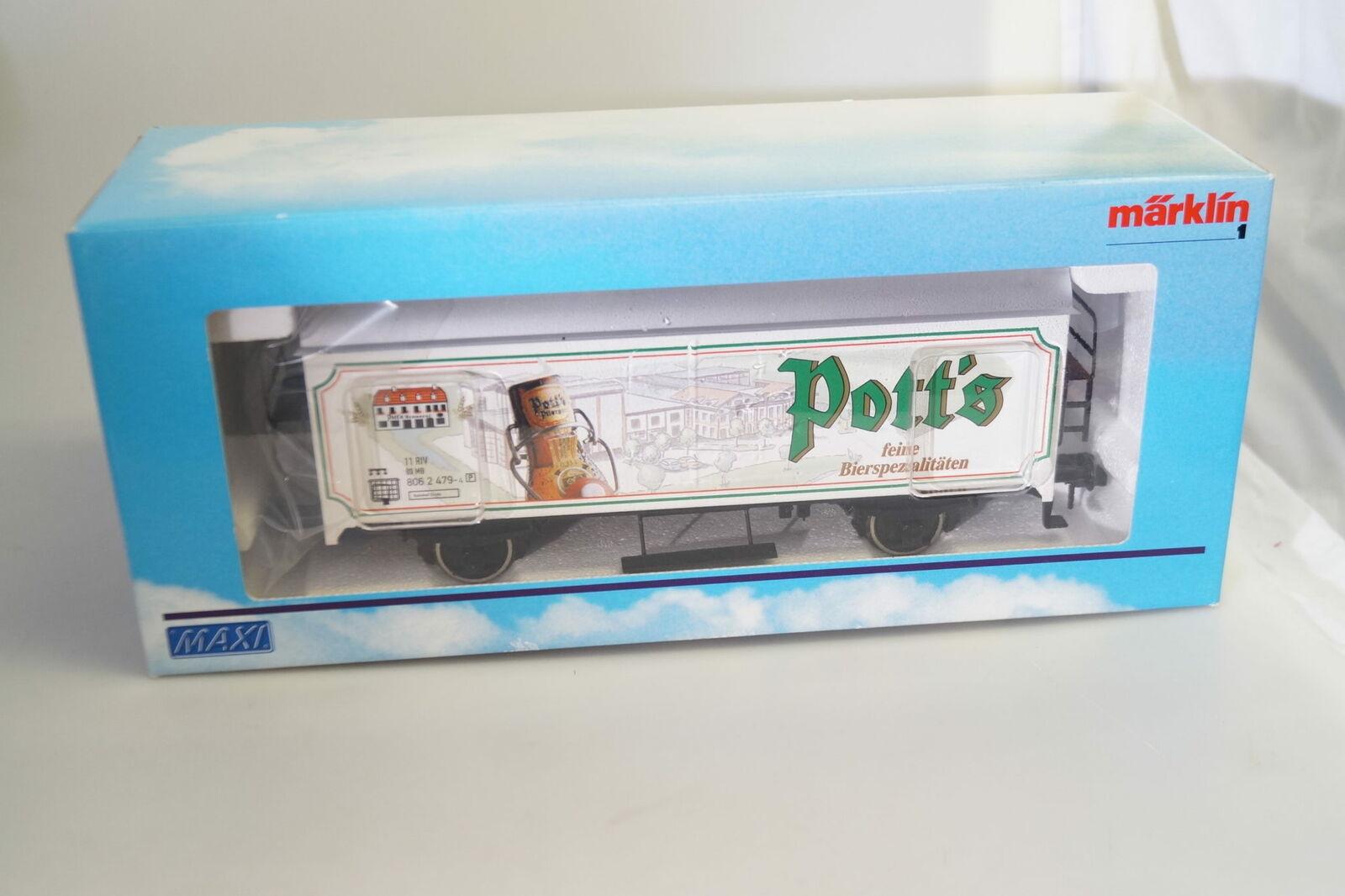 Scala 1  marklin 95012 Vagone Trasporto Birra di Pentola, Nuovo Conf. Orig.
