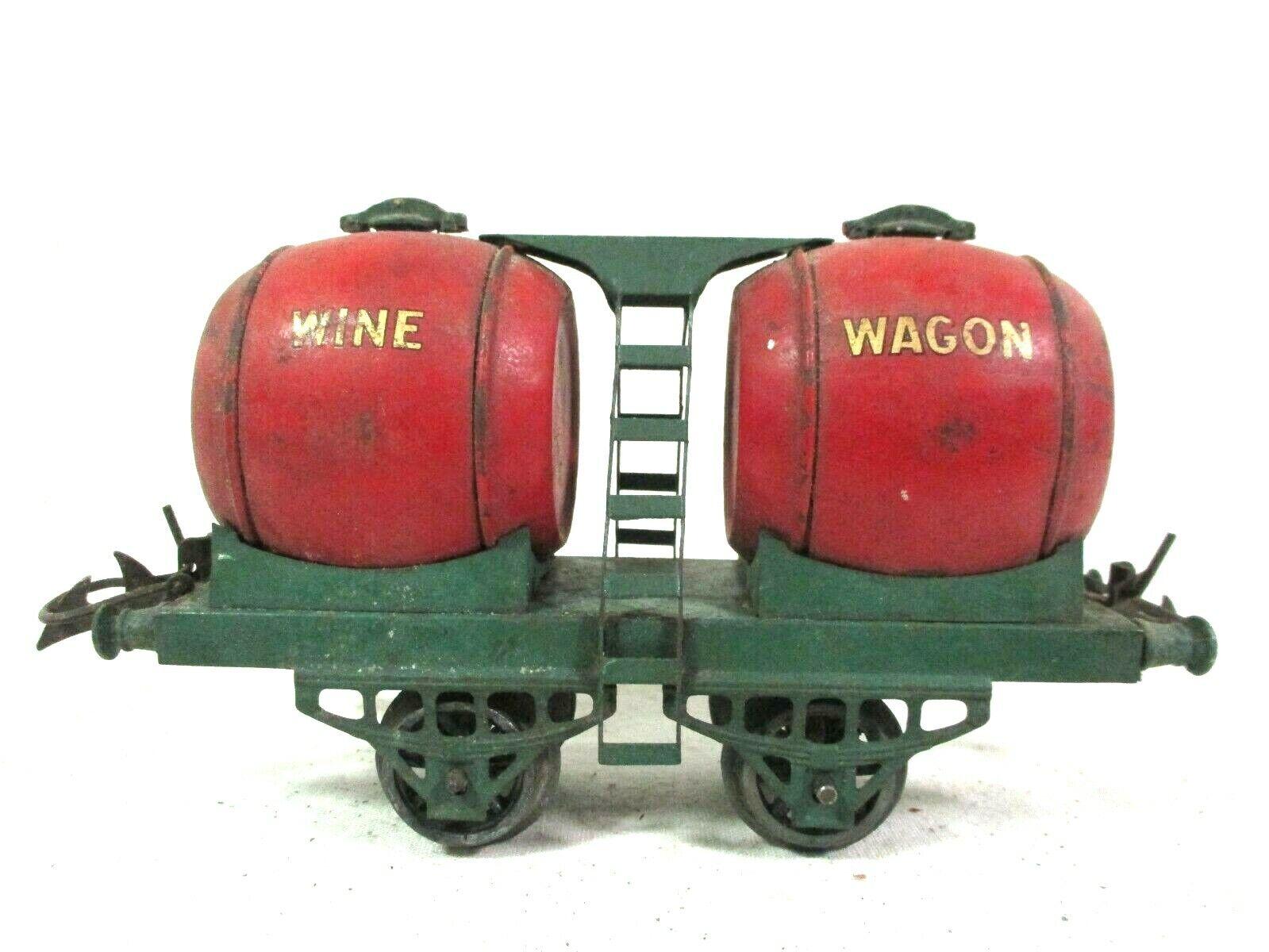 Hornby Double Barrel Wine Wagon O Scale Pre War Model Railway Freight B63-40