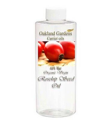 100% Rosehip Rose Hip Seed Oil Pure - ORGANIC VIRGIN  REDUCE WRINKLES ANTI AGING