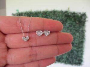 30-CTW-Diamond-Earrings-amp-Ring-Set-18k-White-Gold-JS57-sep