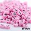 NEW-200-1000pcs-7mm-Mixed-A-Z-Alphabet-Letter-Acrylic-Spacer-Beads-heart-bead thumbnail 25