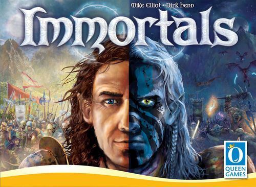 Immortals, Boardgame, New by Queen Games, English [Slightly Damaged Box]