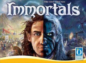 Immortels,jeu De Société,new By Queen Games,english Légèrement Endommagé Boîte