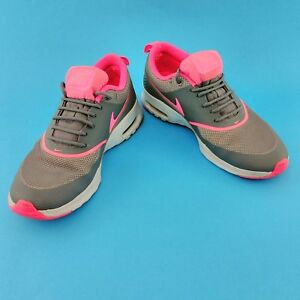Details zu Ladies Nike Air Max Thea Pink Grey Size UK 4 EUR 37.5