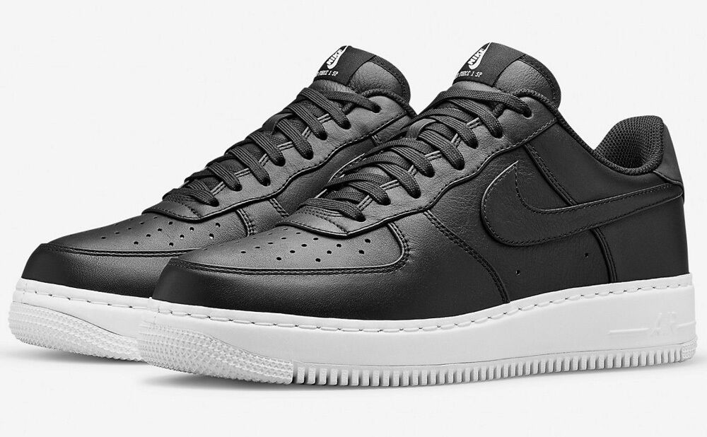 NIKE AIR FORCE 1 CMFT SP NIKE LAB BLACK UK 13 US 14 bhm 718078-008 tisci pigalle