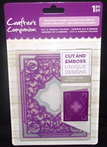 Embossing Folder /& Die all in one Window Gate Teapot by Crafters Companion UPick