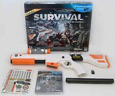 NEW PS3 Cabela's Survival Shadows of Katmai Game w/Top Shot Elite Rifle Gun NEW