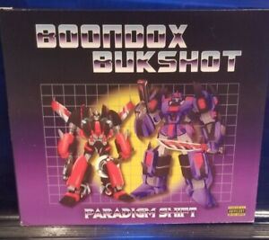 Boondox / Bukshot - Paradigm Shift CD lyte horrorcore axe murder boyz twiztid