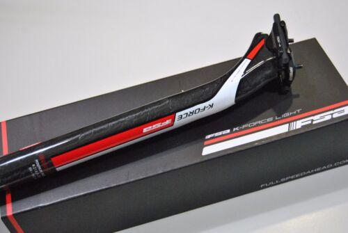 Reggisella Fsa Mod.K-FORCE LIGHT SB 25mm L400mm Carbonio UD//SEATPOST FSA K-FORCE