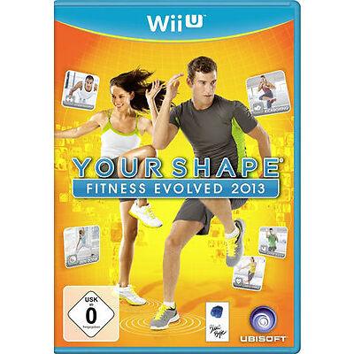 Nintendo Wii U Spiel ***** Your Shape Fitness Evolved 2013 **************NEU*NEW