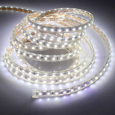 5M-30M 5050 SMD LED Strip Rope Tape Light Xmas Lamp Home Outdoor Waterproof 110V