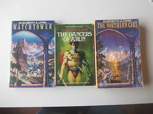 Elizabeth-A-Lynn-The-chronicles-of-Tornor-Trilogy-complete-3-pb-039-s