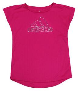 Adidas Big Girls Large/14 Graphic Athletic Short Sleeve T-Shirt ...