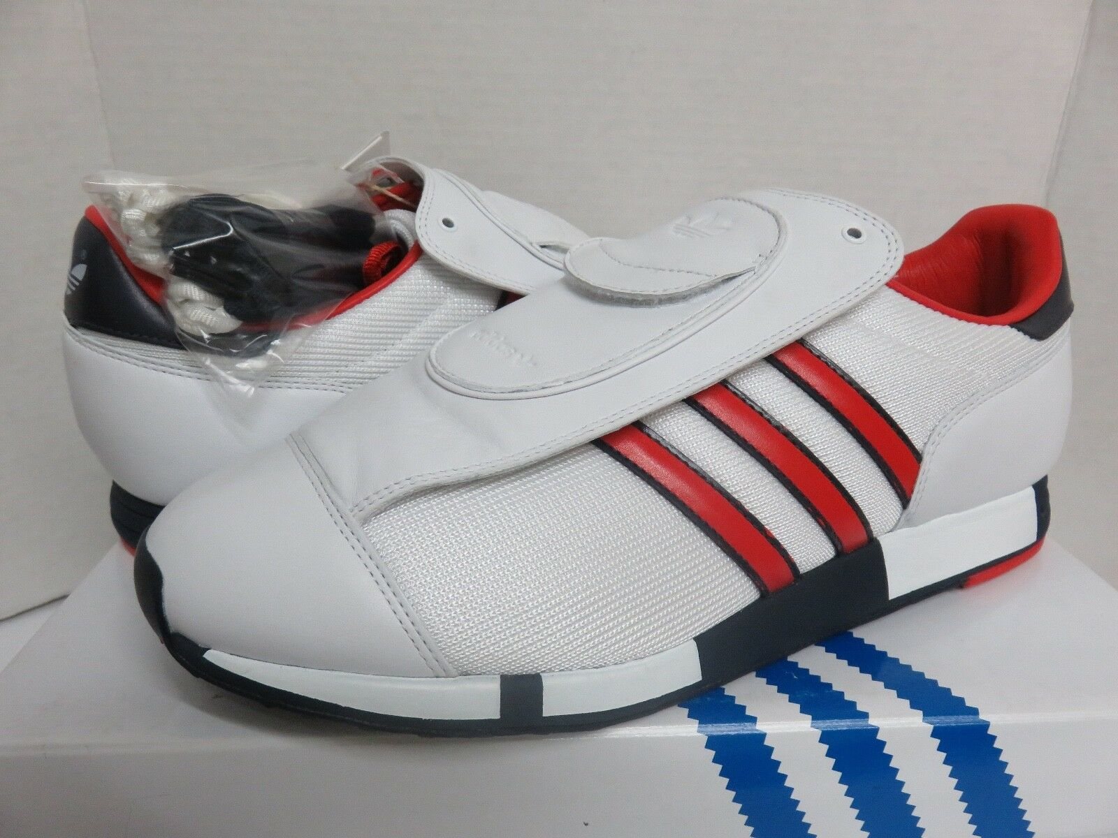 Adidas Pacer DB David Beckham G07176 White/Red White/Red G07176 Men's Size 10 Sneakers Shoes Rare bffe5d
