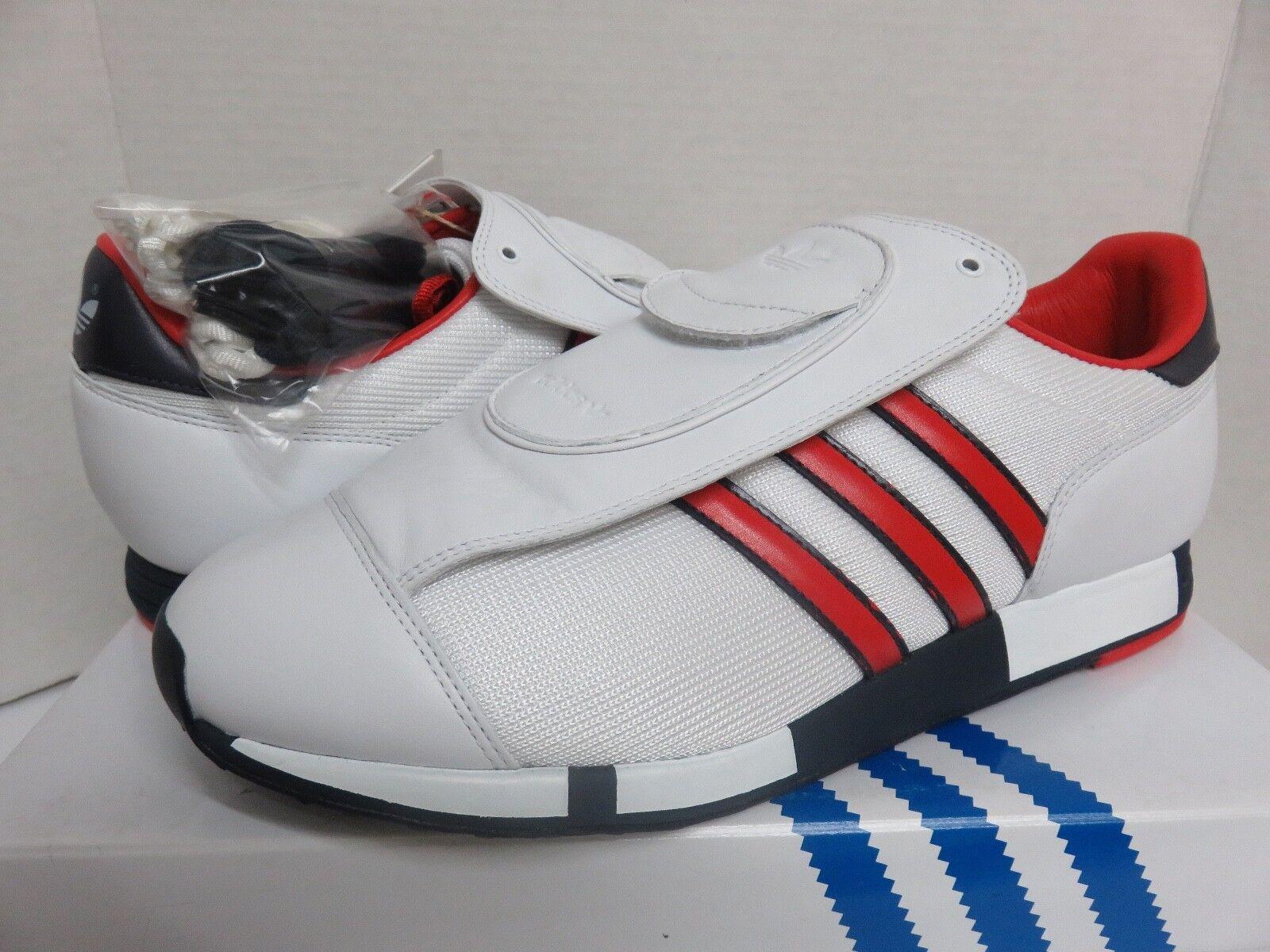 Adidas pacer db david beckham g07176 bianco / rosso uomo rari numero 10 scarpe scarpe rari uomo 9d438b