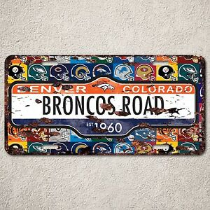 LP0064 Colorado Denver Auto Car License Plate Sign Rust Vintage Home ...