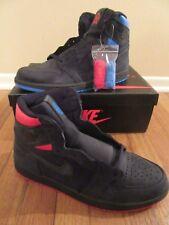 8336813866a6da Nike Air Jordan 1 Retro High OG Q54 Size 11 Black Italy Blue Ah1040 054 Quai