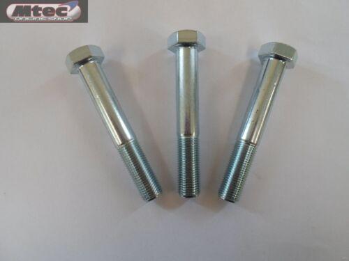 """4 Pack 1//2/""""x 2.1//4/"""" UNF Hex Head Bolt Steel Grade 8.8 BZP Zinc Imperial Bolts"""