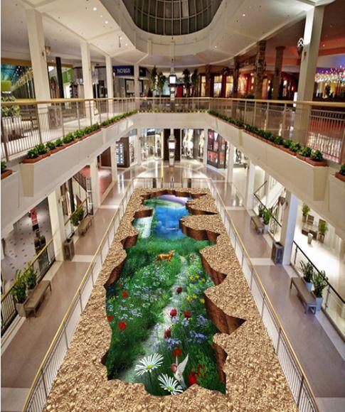 3D Désert 25 Fond d'écran étage Peint en Autocollant Murale Plafond Chambre Art