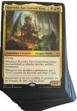 ***Custom Commander Deck*** Korvold Fae-Cursed King - Sacrifice - MTG Magic Card