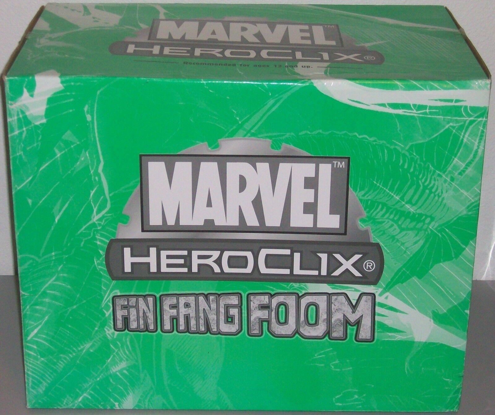 FIN FANG FOOM 225 förundras HeroClix Colossal Figur Convention Exklusivt