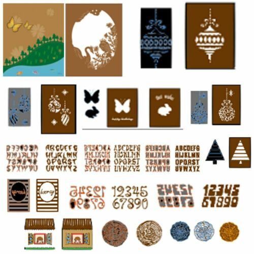 metall fotoalbum dekor stanzformen scrapbooking in einer schablone karten zu