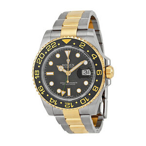 Rolex-GMT-Master-II-Black-Automatic-stainless-steel-and-18kt-yellow-gold-Mens