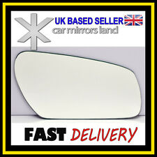 Right Driver Wing Car Mirror Glass Replacement CONVEX Ford Focus MK2 2004-2007
