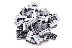 QTY Light Bluish Gray Panel 1 x 2 x 1 100 pieces TCM Compatible Bricks