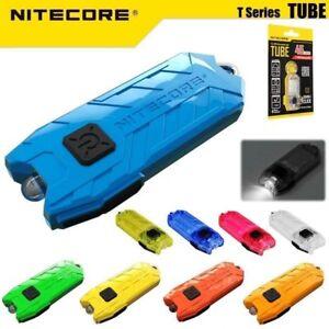 Nitecore Tube 45 Lumens USB Rechargeable Mini Keychain LED Flashlight EDC Torch