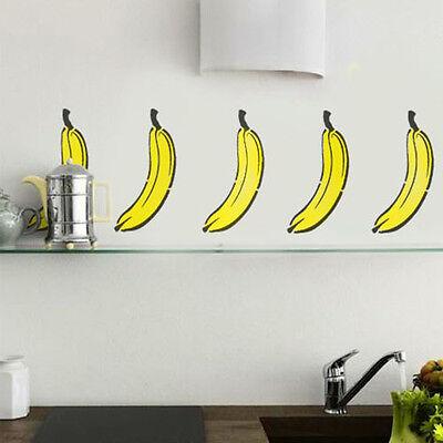 Kitchen Stencil Banana Wall Décor Art Craft Painting Stencils