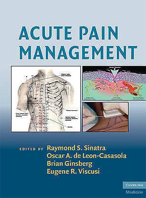 1 of 1 - Acute Pain Management by Cambridge University Press (Hardback, 2009)