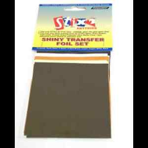 10-SHINY-FOIL-TRANSFER-SHEETS-5-Colours-EARTH-TONES