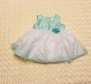 b546ea09d George Toddler Girls Mint Ballerina Special Occasion Dress 18 M