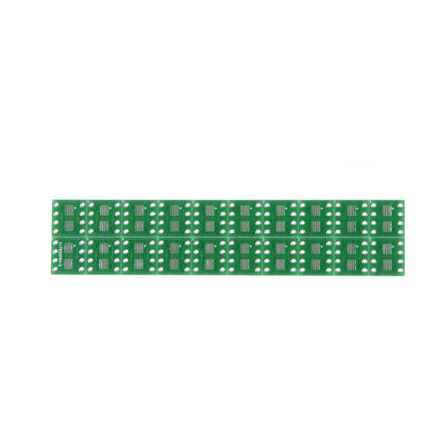 20 PCS SOP8 SO8 SOIC8 SMD to DIP8 Adapter PCB Board Convertor Double SidesBL