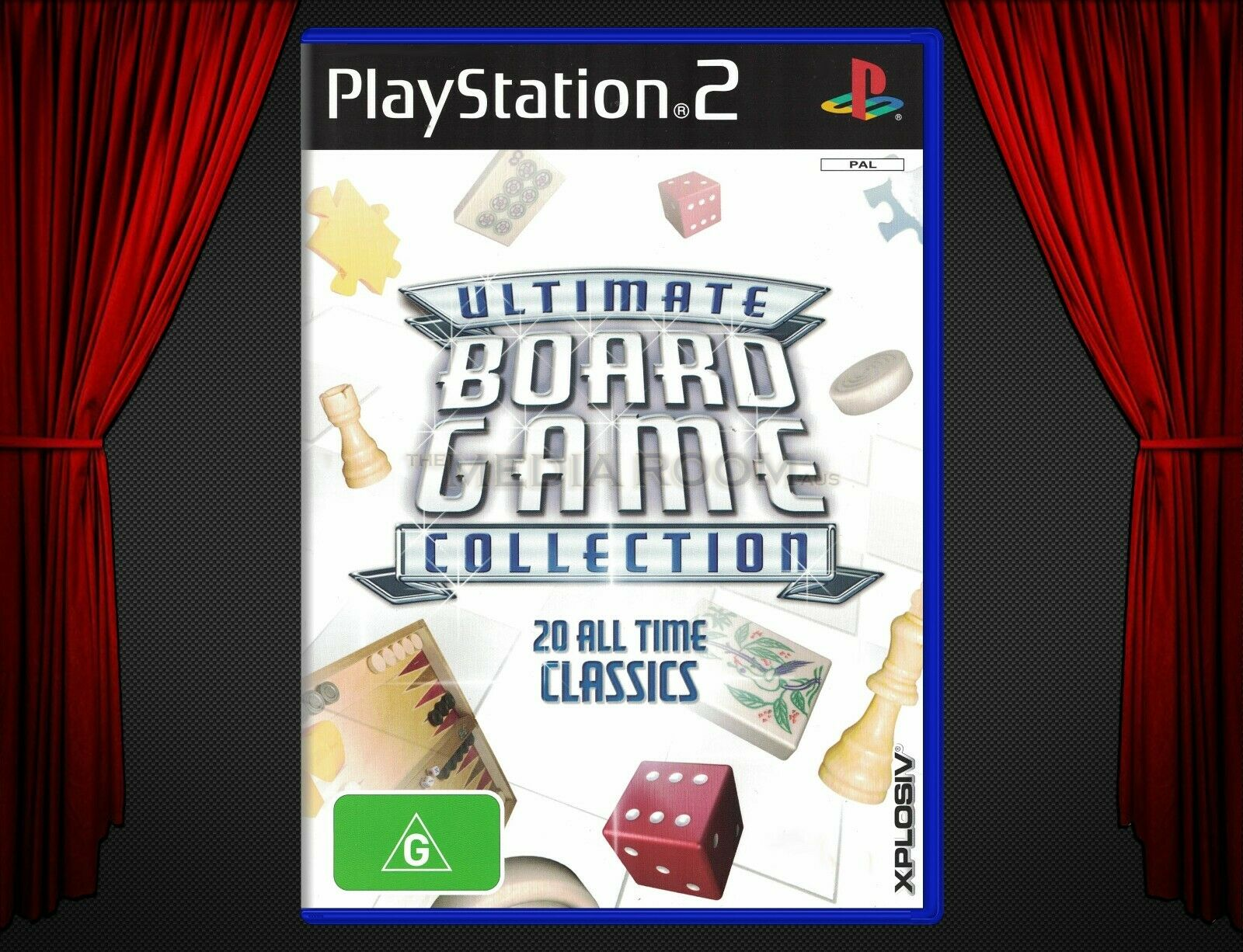 Sony PS2 Game | Ultimate Board Game Collection (2006) | Strategy / 1-6 Players