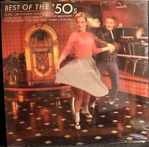 Best-Of-The-50-039-s-RCA-Country-Vinyl-LP-Record-Album-Still-Sealed-Cutout