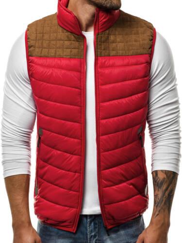 OZONEE Uomo Gilet Bodywarmer Gilet smanicato giacca transizione MIX 5176