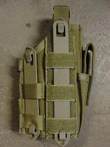 Holster-Etui-Pistolet-Blackhawk-Strike-Gen-6-Molle-System-Beige-Tan-Coyote-NEUF
