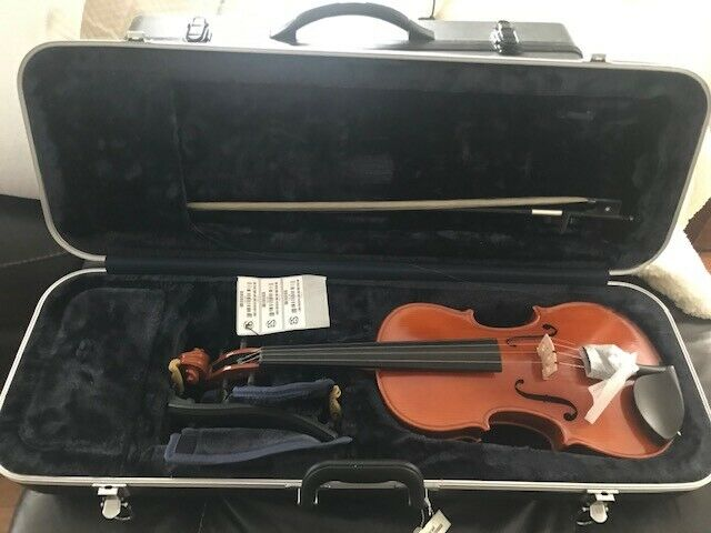 Mint 2014 Strobel 4 4 Ml80 Full Size Violin With Case Bow For Sale Online Ebay