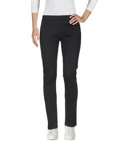 Pantaloni-Donna-BLUGIRL-FOLIES-Made-in-Italy-I190-Affusolato-Nero-Tg-40-46