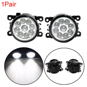 Pair-Fog-Light-Lamp-Replacement-w-H11-Bulb-For-Acura-Honda-Ford-Nissan-Subaru