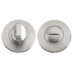 Bathroom Turn Release Door Set Thumb Lock Stainless Steel Toilet Privacy Bolt