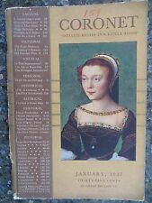 """Vintage Coronet Magazine January 1937  """"The Dice Players"""" by  Mathieu Le Nain"""