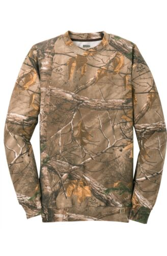 Ap Realistic Man Russell Xtra Sport Outdoors Crew Camouflage Albero Sweatshirts avEnqPA