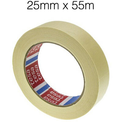 48 Roll MASKING TAPE INDOOR OUTDOOR DIY PAINTING DECORATING EASY TEAR 50MM x 55M