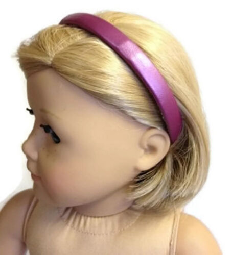 "Lavender Headband made for 18/"" American Girl Doll Clothes Accessories"