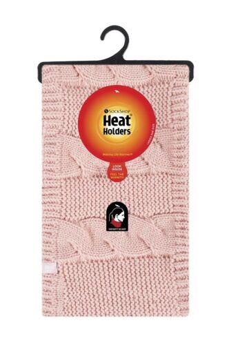 Femmes Véritable Thermique Hiver Chaud Heat Holders Neck Warmer Écharpe Infinity écharpe