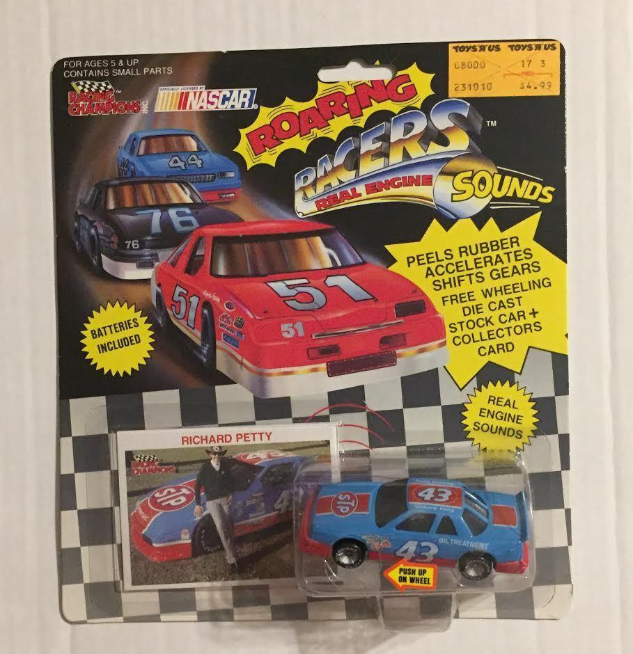 1990 RACING RACING RACING CHAMPIONS  ROARING RACERS  RICHARD PETTY STP cffdfa